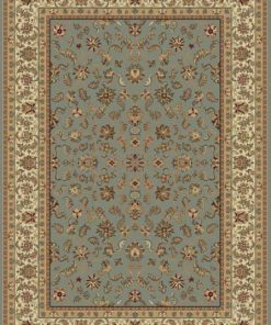 Blue Ascot Turkish Rug