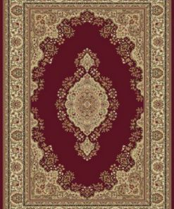 Red Ascot Turkish Rug