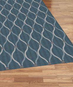 Turkish Terazza Rug Blue