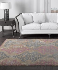 Zeus Antique Colourful Rug in Lounge